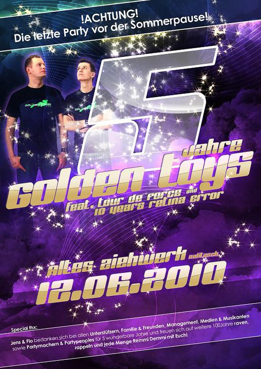 5 Years Golden Toys